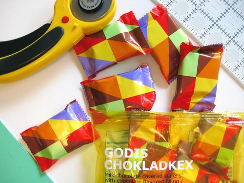 IKEA Godis Chokladkex mini quilt