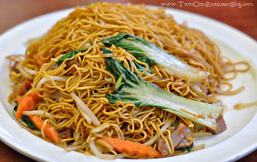 Barbeque Pork Chow Mein at Yuet Lee Chinese Seafood Restaurant ~ San Francisco, CA