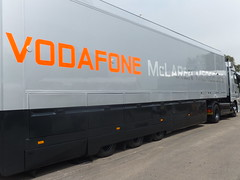 McLaren-Mercedes F1 Lorry