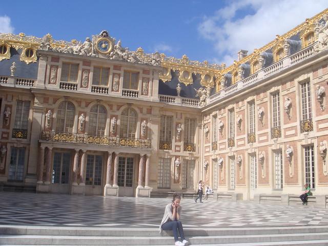 Marble Court, Versailles