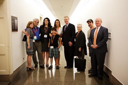 Visiting a Congressman