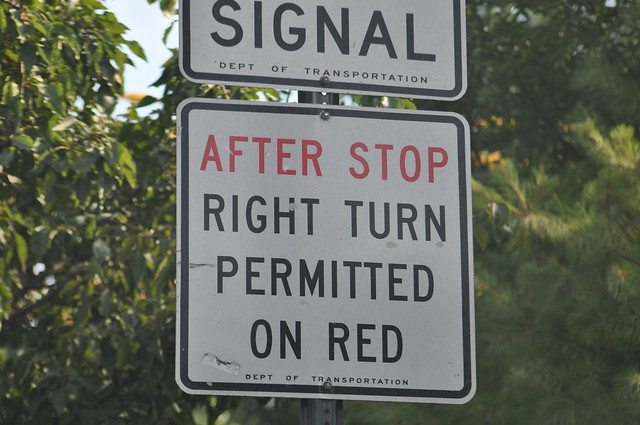 After Stop Right Turn Permitted on Red