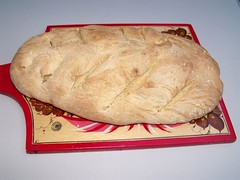 Semolina bread by Teckelcar