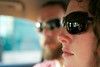 Riding in the car. by Trey Piepmeier