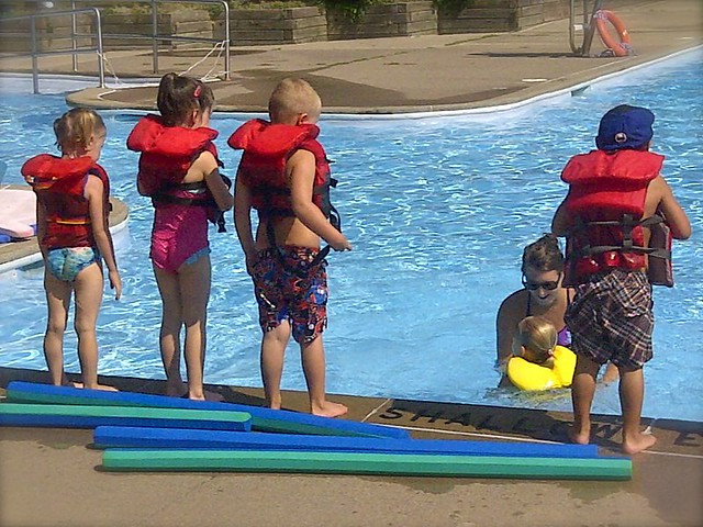 Zed swimming lessons 1