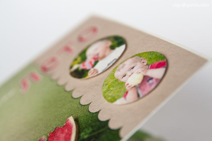 Конверт для диска с летней фотосессией