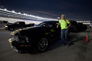 Lady Racer and her Shelby GT350-H