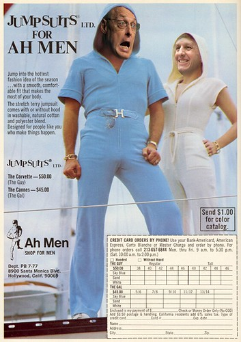 JUMP SUITS FOR AH MEN by Colonel Flick