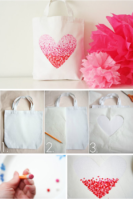 heart bag via v and co