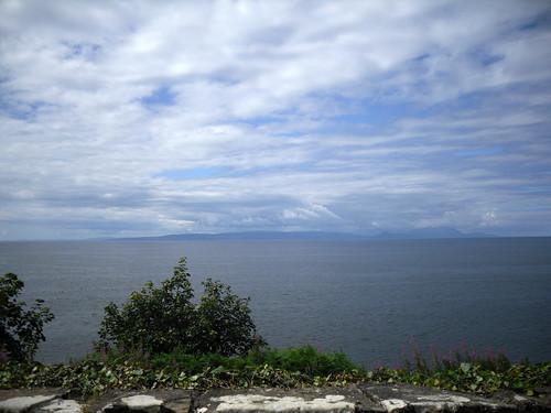 Culzean Castle sea view