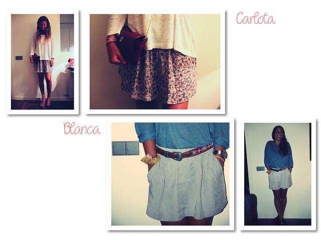 CARLOTA Y BLANCA