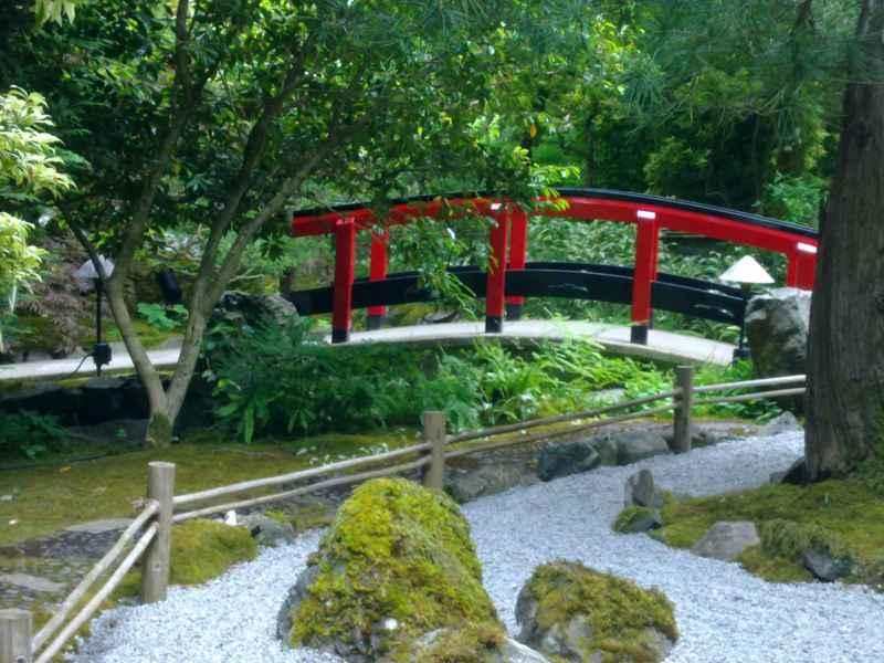 Japanese garden en jardines Butchart Canada 44