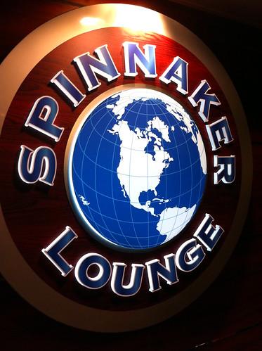 Norwegian Pearl - Spinnaker Lounge Sign