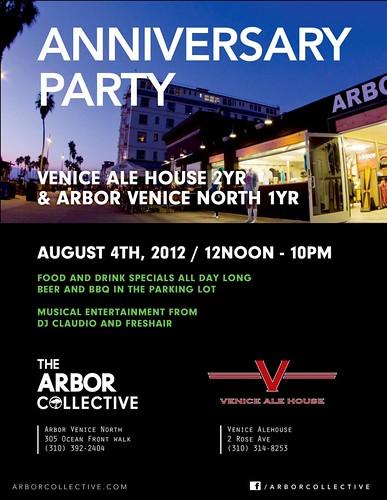 Venice Ale House: 2 Year Anniversary