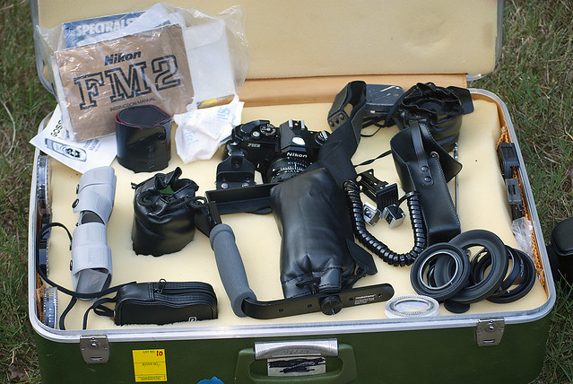 A Nikon FM-2N and outfit- an auction lot I purchased