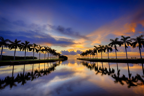 sunset sunrise estate cloudy miami deering deeringestate palmettobay