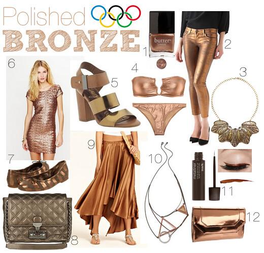 Livingaftermidnite : Polished Bronze OLYMPICS
