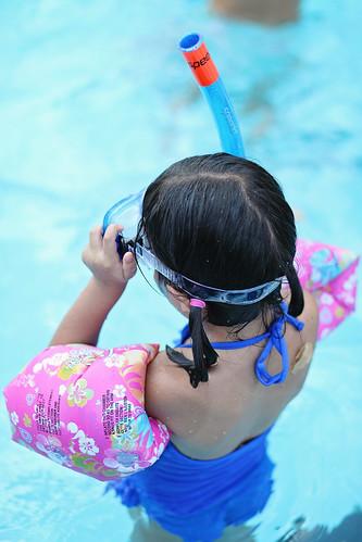 snorkeling queen!