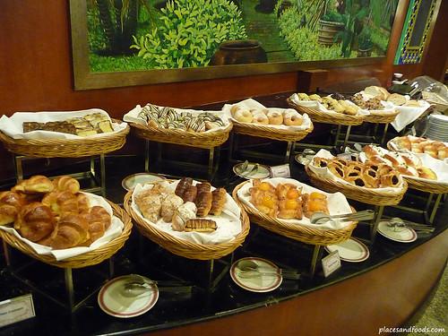 Equatorial hotel penang breakfast breads