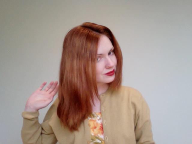 straight hair b