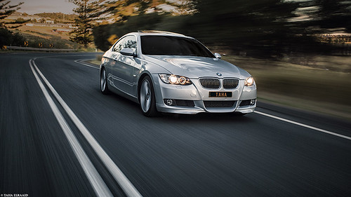 My first car shoot || BMW 325i Coupé