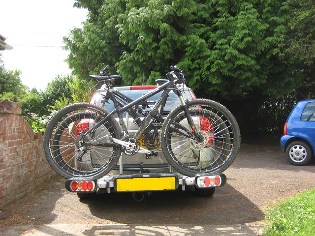 Tow Bar Bike Carrier Anyone Got One Are They Safe