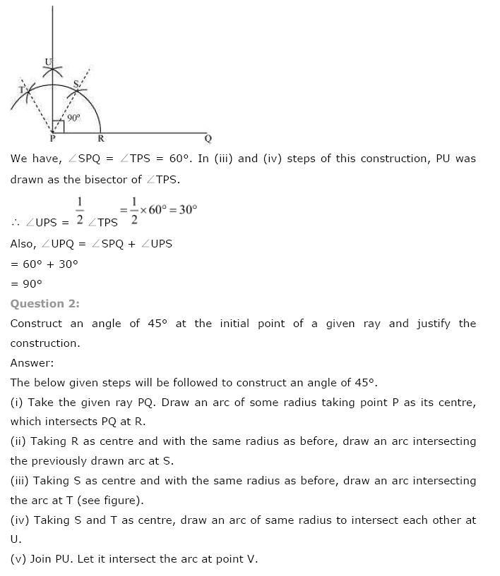 NCERT Solutions for Class 9 Maths Chapter 11 Constructions | AglaSem ...