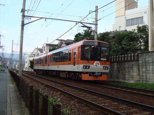 2012/08 叡山電車 まんがタイムきらら×きらら号