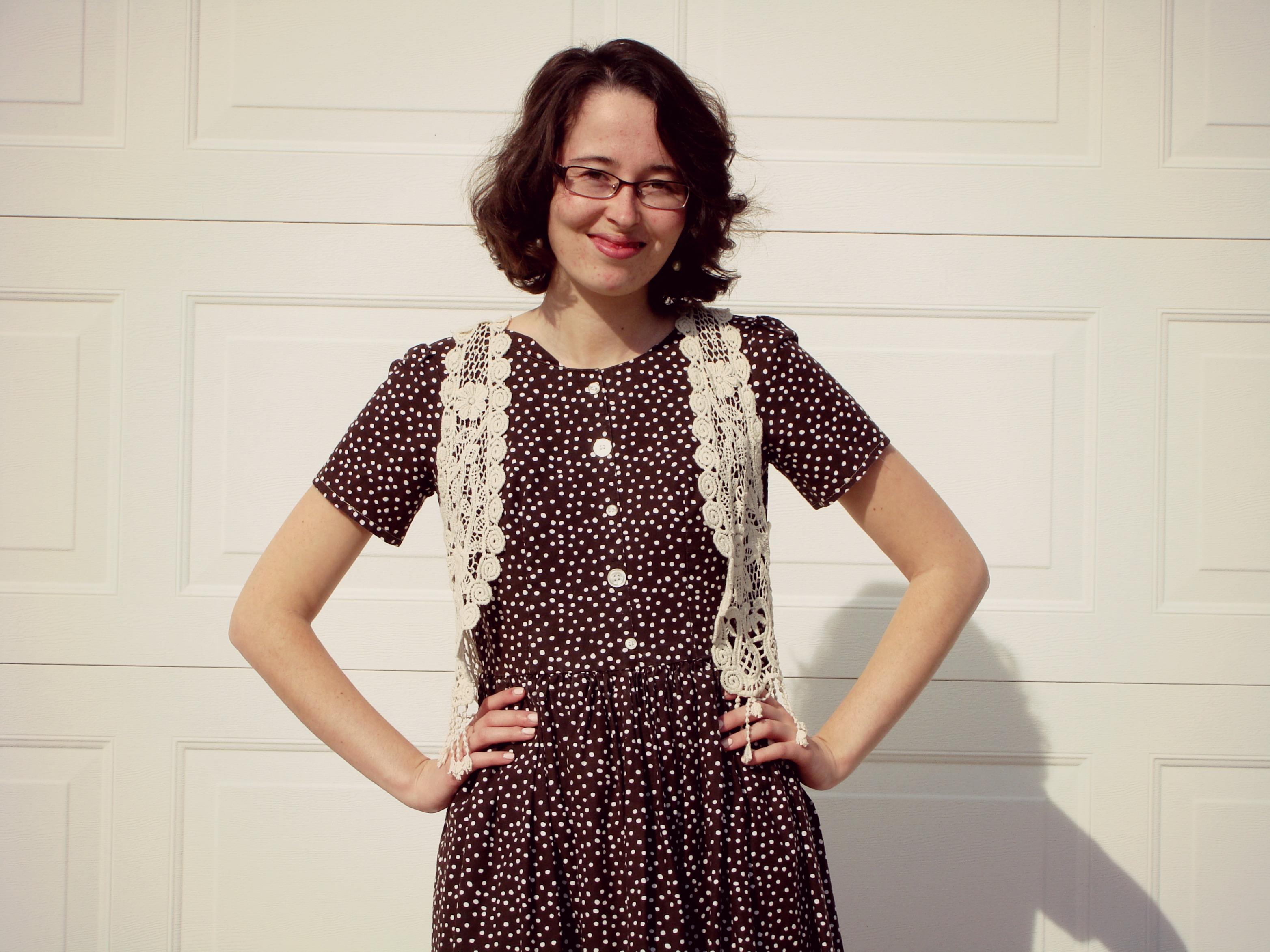 1960s // Vintage Inspired // Polka Dots