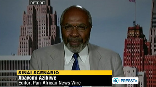 Abayomi Azikiwe, editor of the Pan-African News Wire, featured on Press TV News Analysis program on August 14, 2012 discussing the political situation in the North African state of Egypt. President Morsi has retired top military leaders in the country. by Pan-African News Wire File Photos