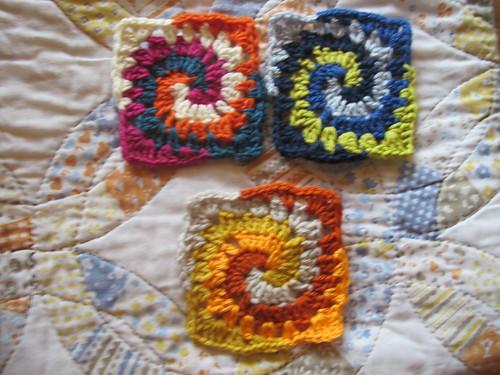 Week 12 -Spiral Grannies