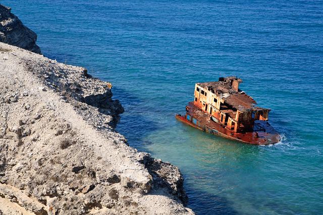 Wrecked ship 2