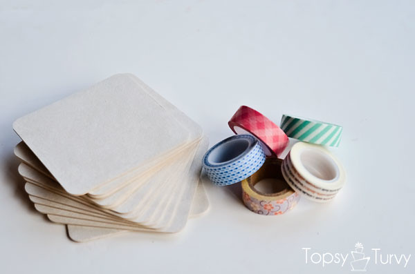 washi-tape-coasters-supplies