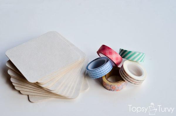 washi-tape-coasters-supplies