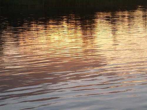sunset reflection finland åland ahvenanmaa godby