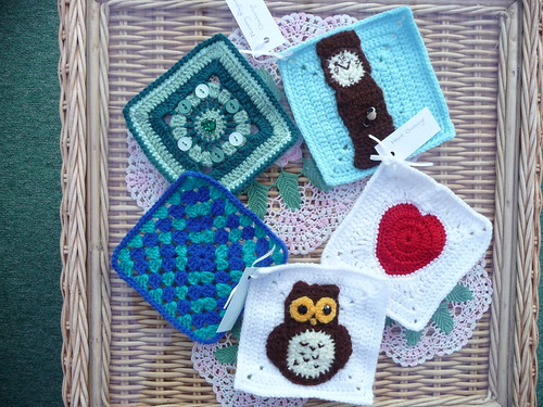 Ann (Kianie) Challenge squares have arrived! Thank you!
