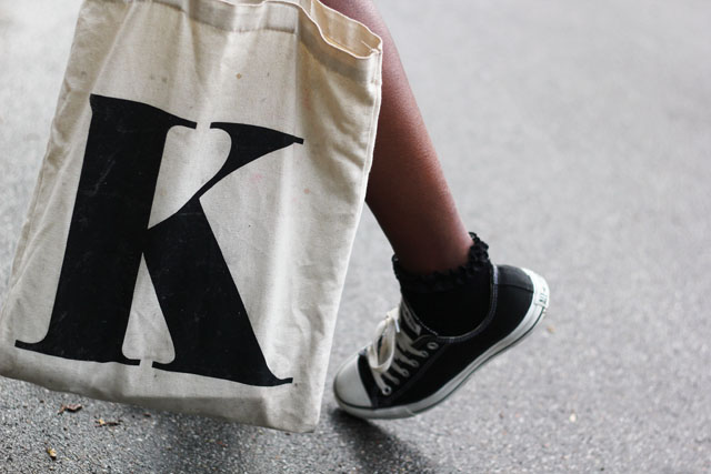 Alphabet Bags Letter K Initial