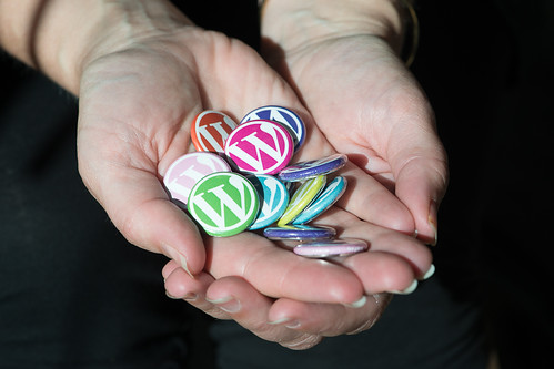 WordPress バッジ