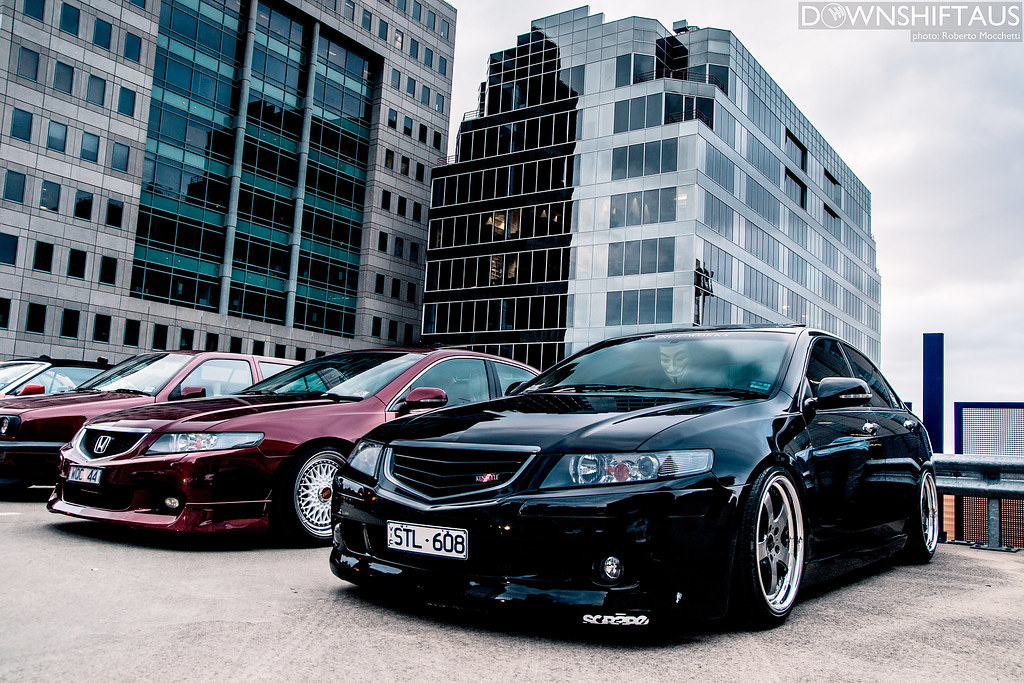 Slammed Accord Euro's