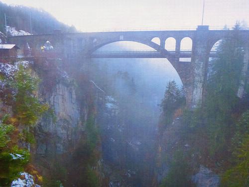 cliff nature fog mystery landscape magical itala2007