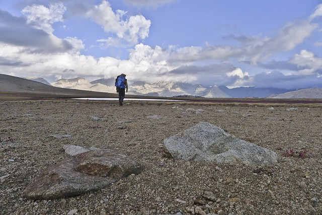 Tarn on Bighorn Plateau