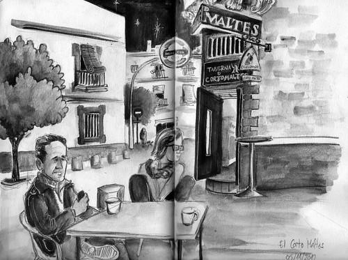 La taberna de Corto Maltés