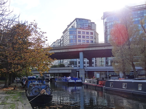 117 - Westway, Regent's Canal and Office Blocks
