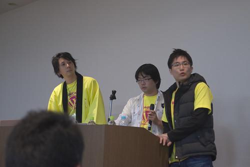 YAT さん、和田さん、チミヲさん