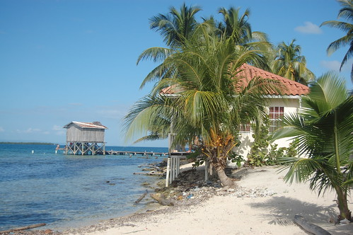 Caye on the MesoAmerican barrier reef