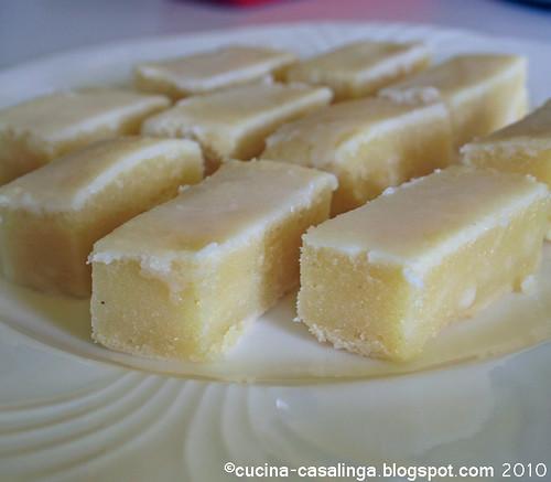 Weisse Brownies
