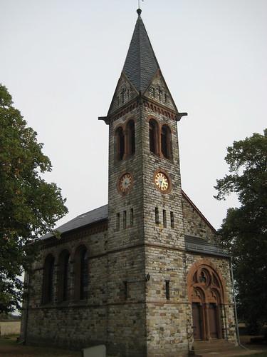 1884 Karith neoromanische evangelische Kirche St. Dorotheen Thälmannstraße in 39291