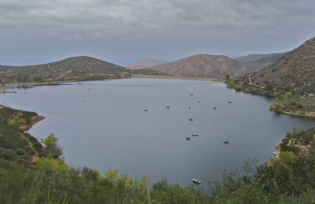 Elevation of derringer rd poway ca usa maplogs for Lake poway fishing