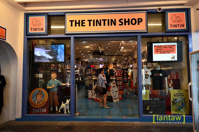 Singapore Chinatown: Tintin store