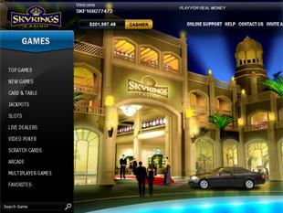 Sky Kings Casino Lobby